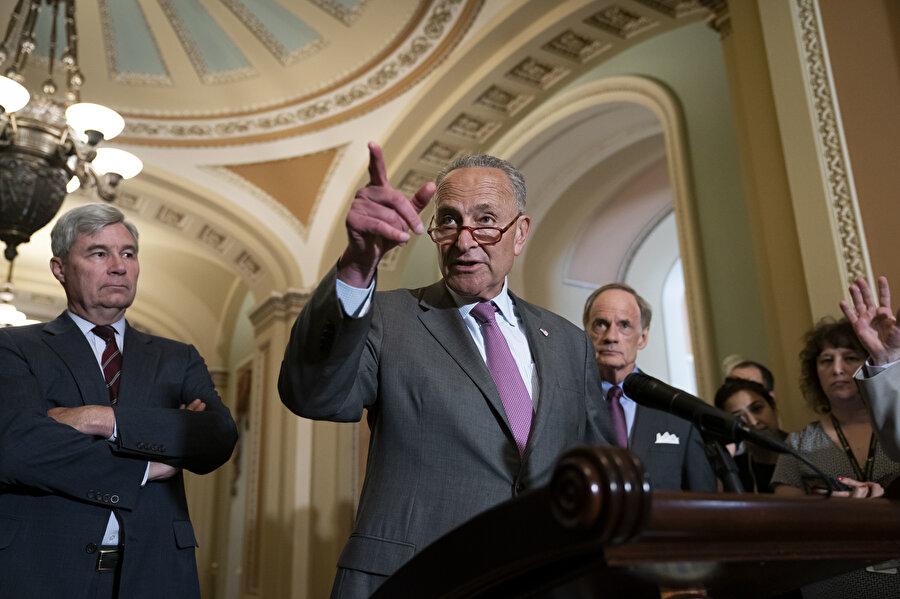 ABD'li senatör Chuck Schumer.