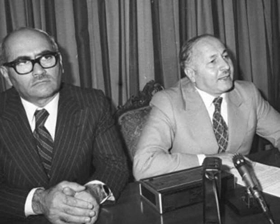 Süleyman Arif Emre ve Necmettin Erbakan
