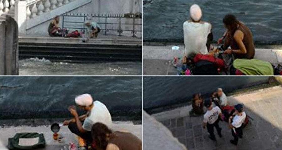 Venedik Rialto köprüsünde kahve içen iki Alman turiste polis müdahale etti