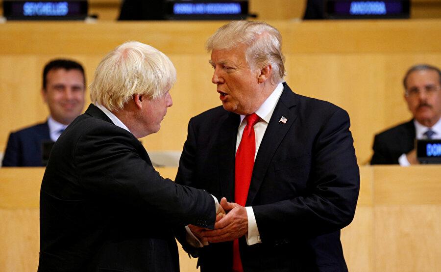 ABD Başkanı Trump, İngiltere'deki seçim sürecinde Boris Johnson'a yaptığı açıklamalarla tam destek veriyordu.