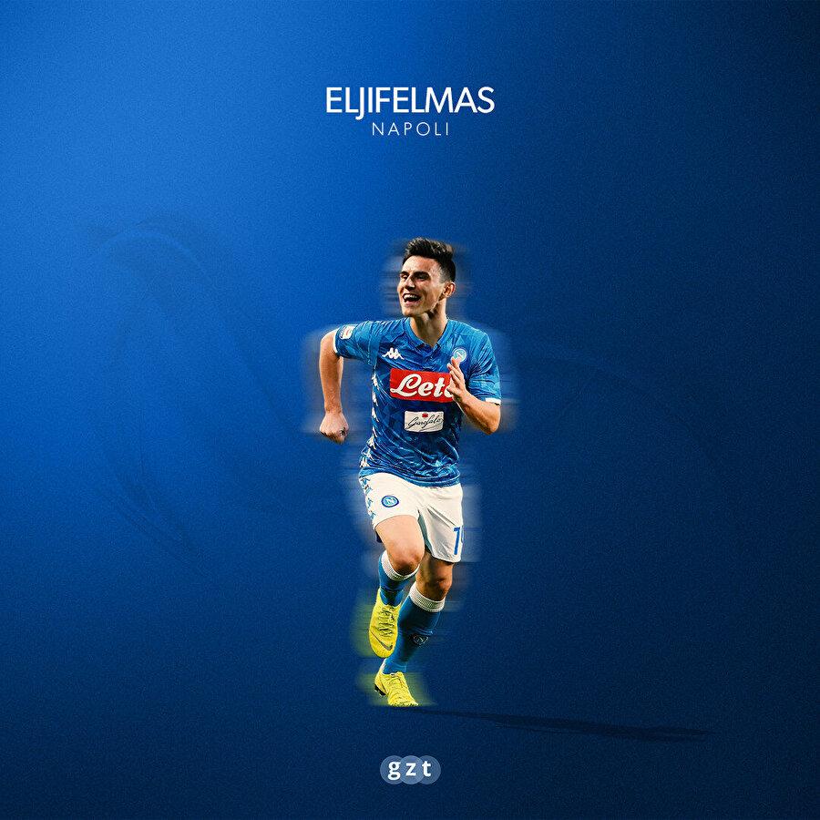 Eljif Elmas, Napoli formasıyla.