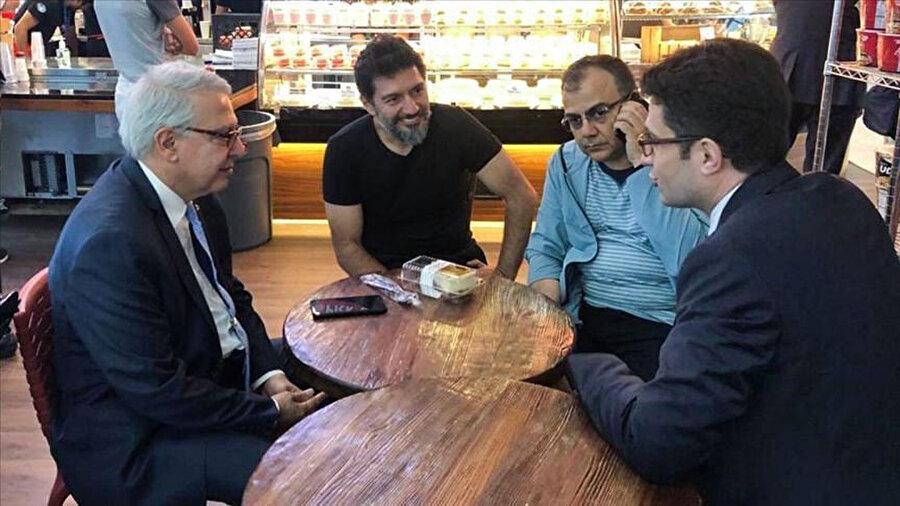 New York JFK Havalimanı'ndan İstanbul'a uğurlanan eski Halk Bankası Genel Müdür Yardımcısı Mehmet Hakan Atilla, İstanbul Havalimanı'na indi.