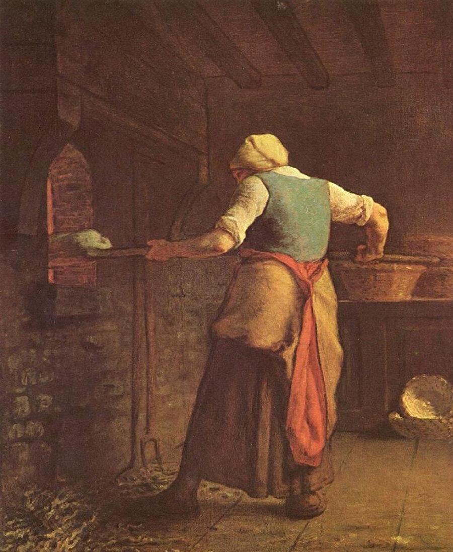 Kahvaltı yapan Yakovloviç, karısının fırından çıkardığı mis gibi kokan taze ekmeği alıp ikiye ayırdığında içinde ağaran bir şey görür.