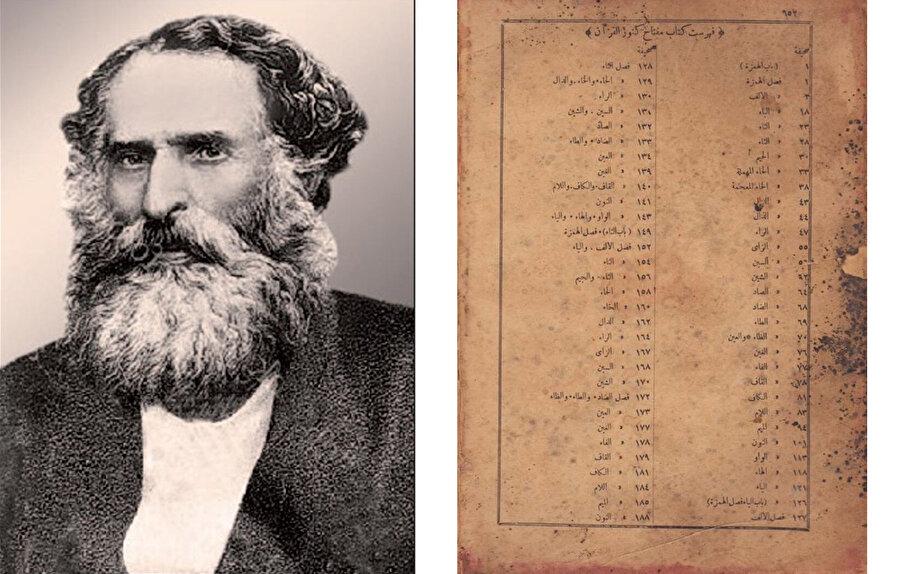 Mirza Kazım Bey'in ''Kur'an Hazinelerinin Anahtar'' isimli eseri Kur'an'daki kavramların alfabetik sırayla tercümesinden ibaretti.