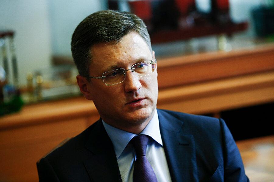 Rusya Enerji Bakanı Aleksandr Novak -AA