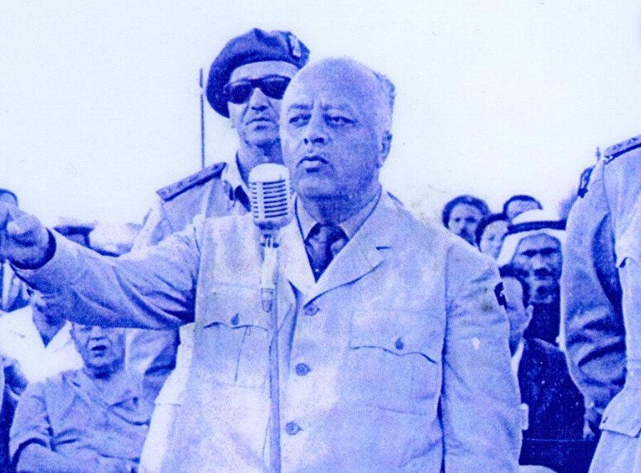 Örgütün kurucu lideri Ahmed Şukayrî.