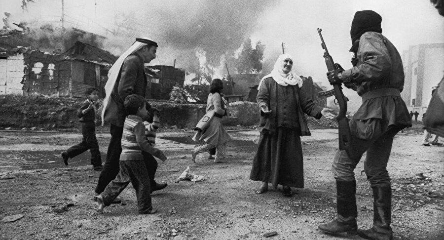 İç savaş yıllarında Lübnan...