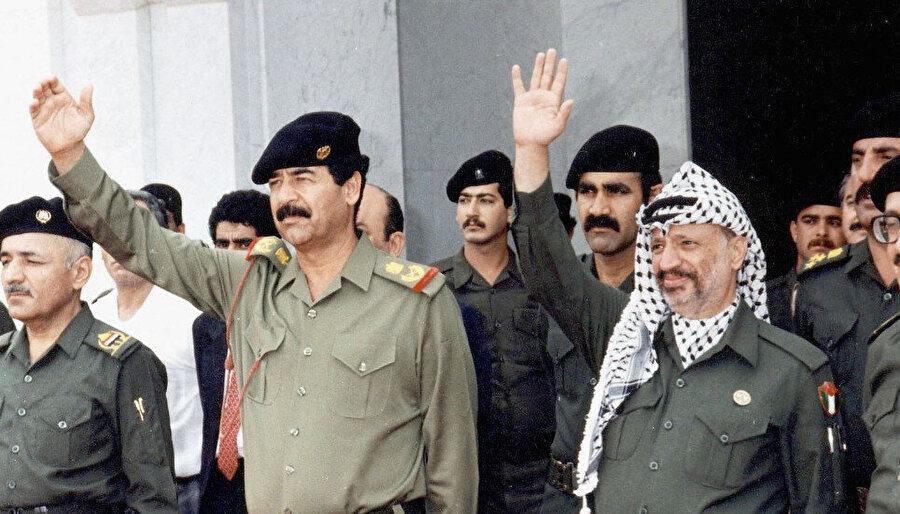 FKÖ yönetimi, Irak Devlet Başkanı Saddam Hüseyin'le hep yakın irtibattaydı.