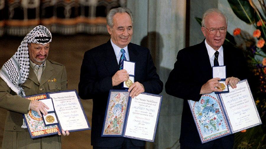 Oslo Süreci, anlaşmanın taraflarına Nobel Barış Ödülü kazandırdı.