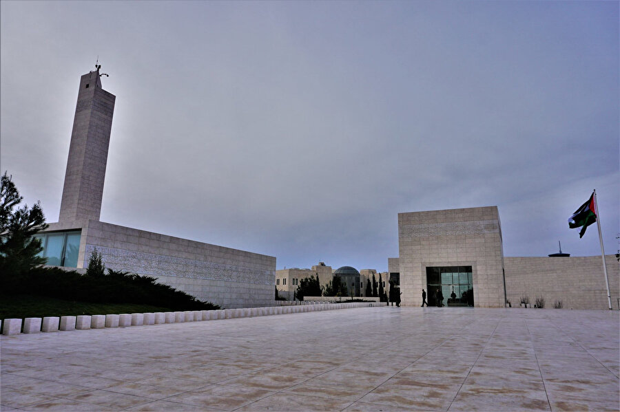 Ramallah'taki Mukataa Kompleksi.