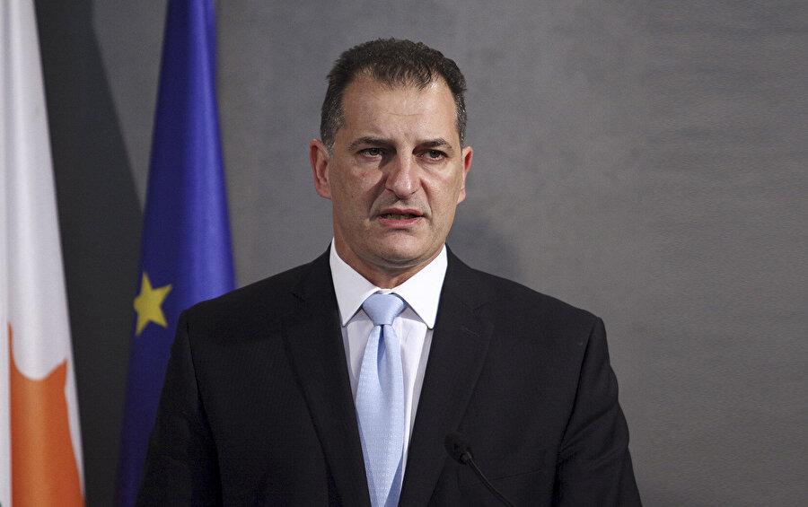 Güney Kıbrıs Rum Kesimi Enerji Bakanı Yiorgos Lakkotrypis