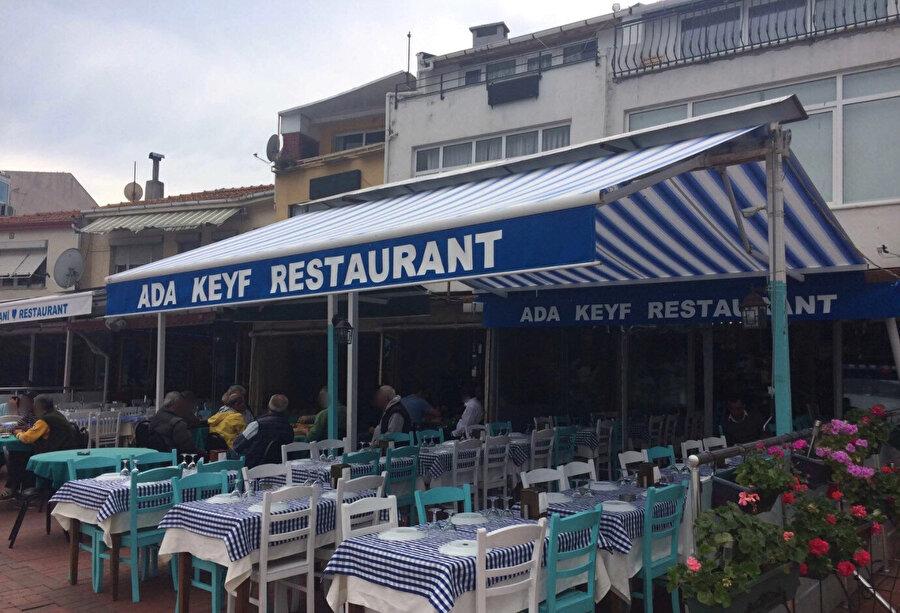 Vedat Milor'un saldırıya uğradığı restoran.