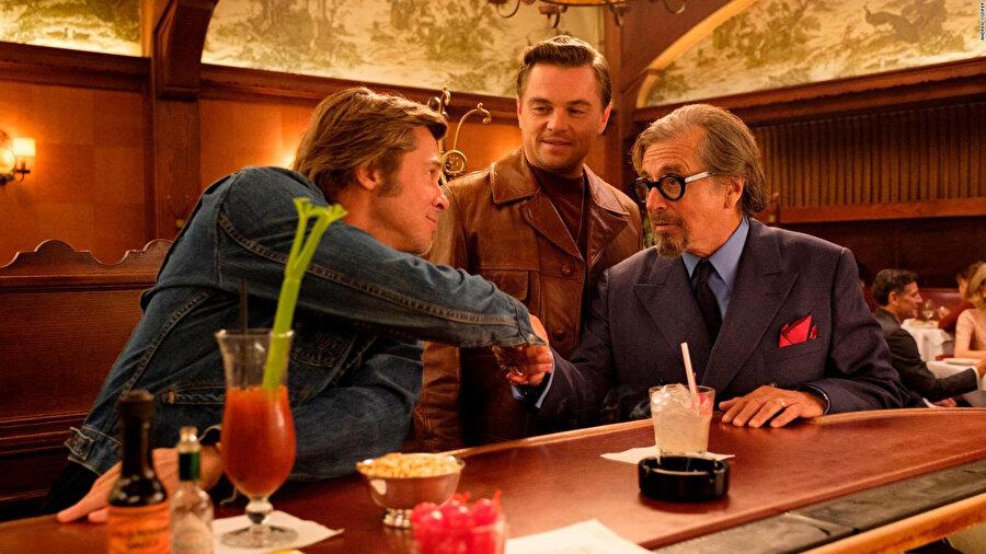 Brad Pitt, Leonardo DiCaprio, Al Pacino
