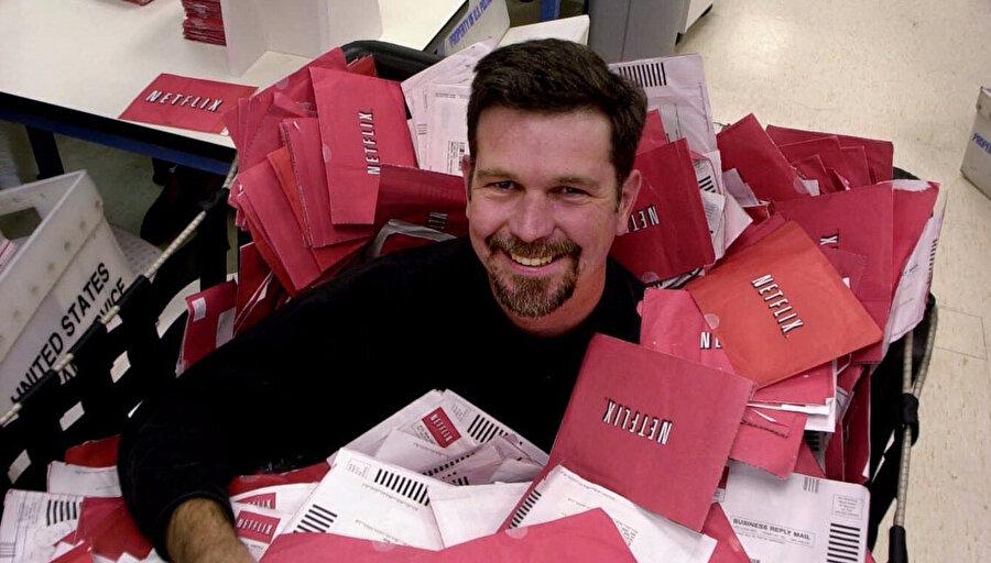 Reed Hastings, Netflix 1997 yılında bir DVD kiralama şirketi olarak kurdu.