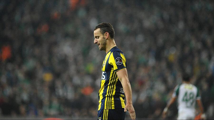 Roberto Soldado Fenerbahçe formasıyla.
