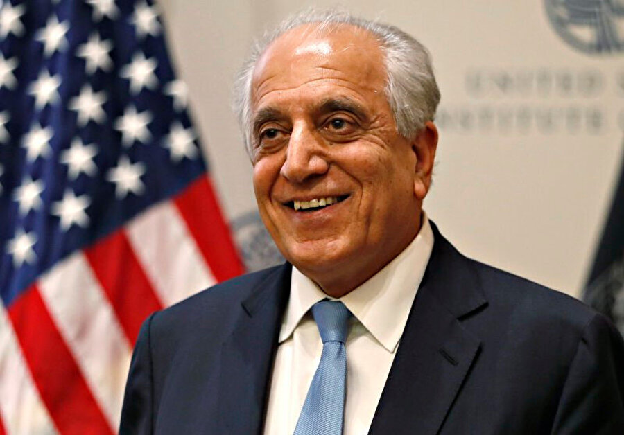 ABD'nin Afganistan Özel Temsilcisi Zalmay Halilzad.