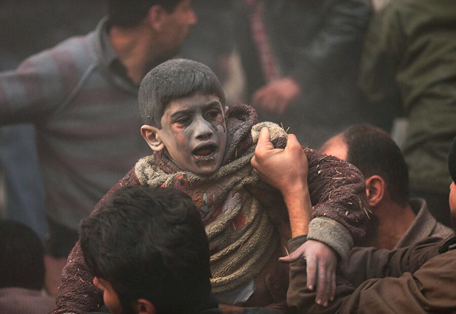 208'i çocuk, 140'ı kadın 781 sivilin yaşamını yitirdi. (Arşiv)