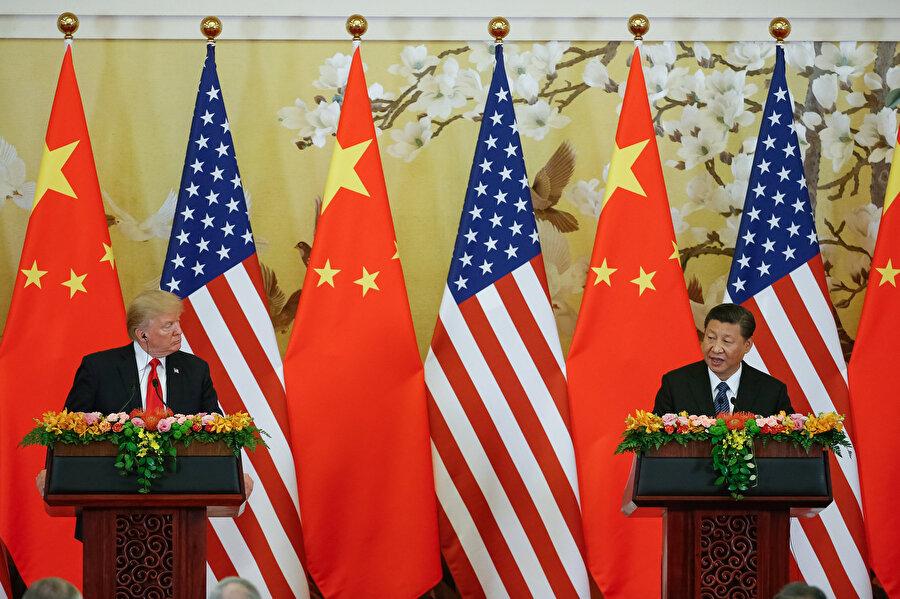 Çin Devlet Başkanı Şi Cinping ve Trump Japonya'da bir araya gelmişti.