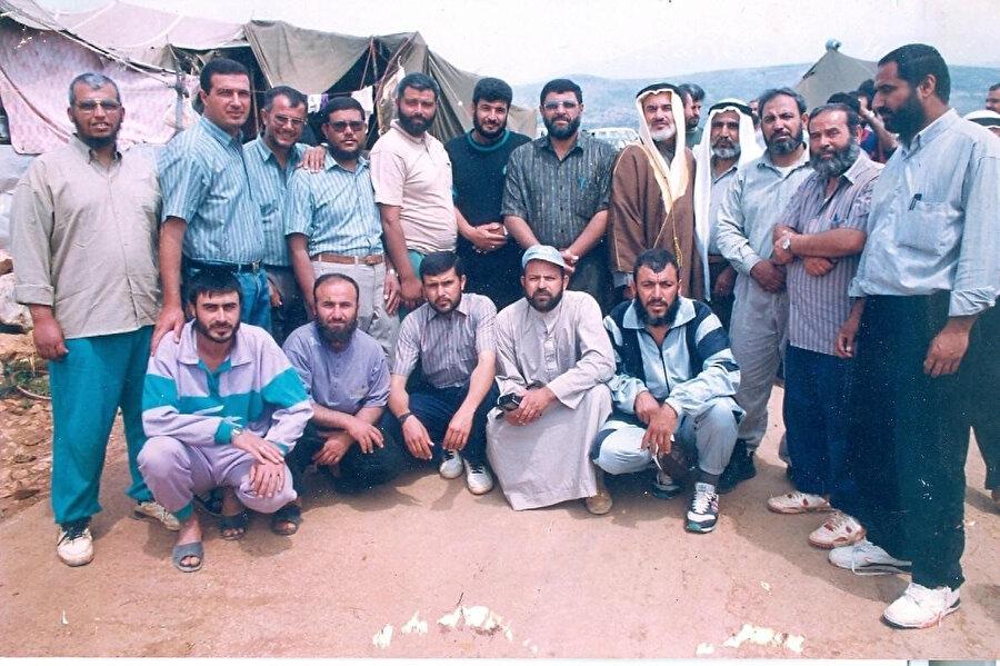 Merc ez-Zuhûr sürgünlerinden bir grup...
