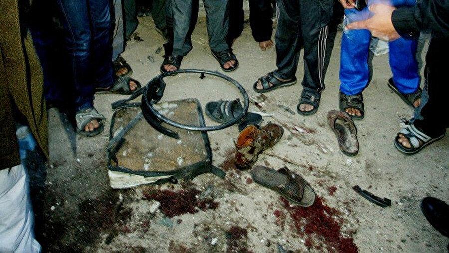 Suikasttan sonra, Ahmed Yasin'in tekerlekli sandalyesinden geri kalanlar...