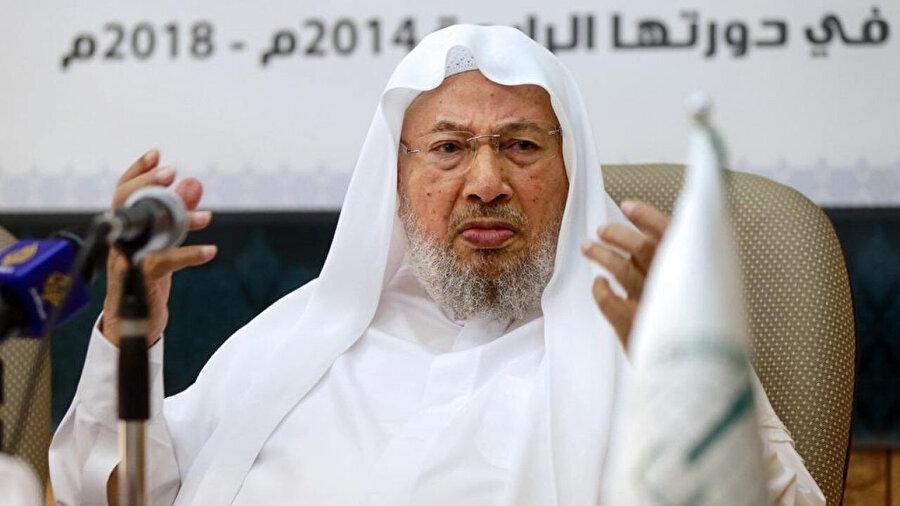 Hamas'ın İsraillilere yönelik olarak düzenlediği istişhad eylemlerinin fetvasını, Yûsuf el Karadâvî vermişti.