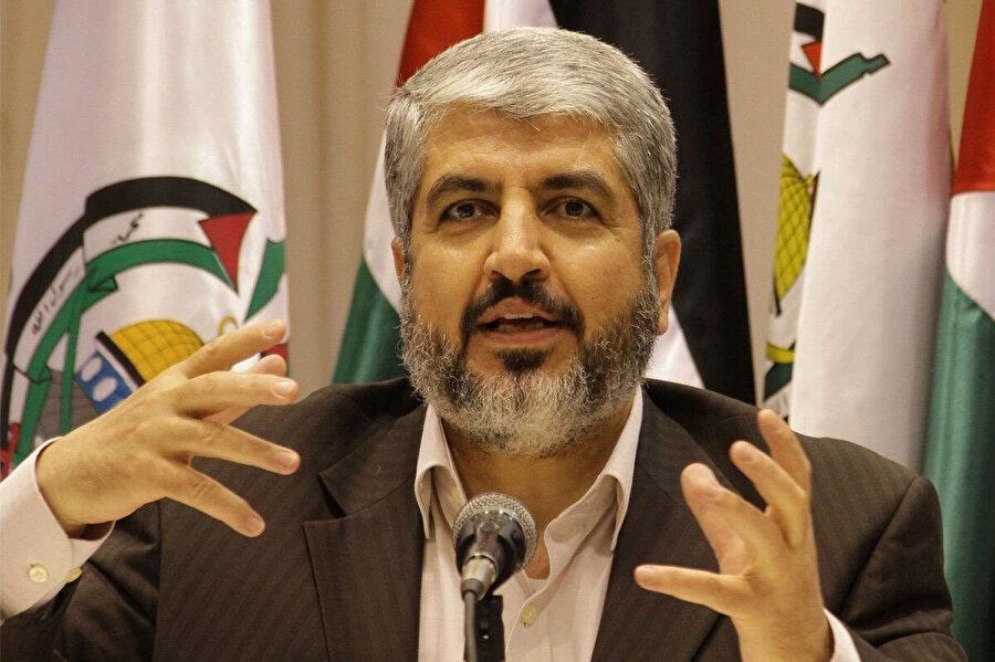 Yaklaşık 20 yıl Hamas liderliğini sürdüren Hâlid Meşal, 2017'de görevini İsmail Haniye'ye devretti.