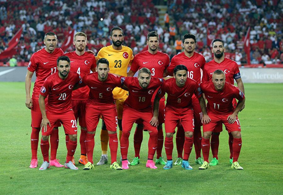 Türkiye Milli Takımı'nın Euro 2016 kadrosu