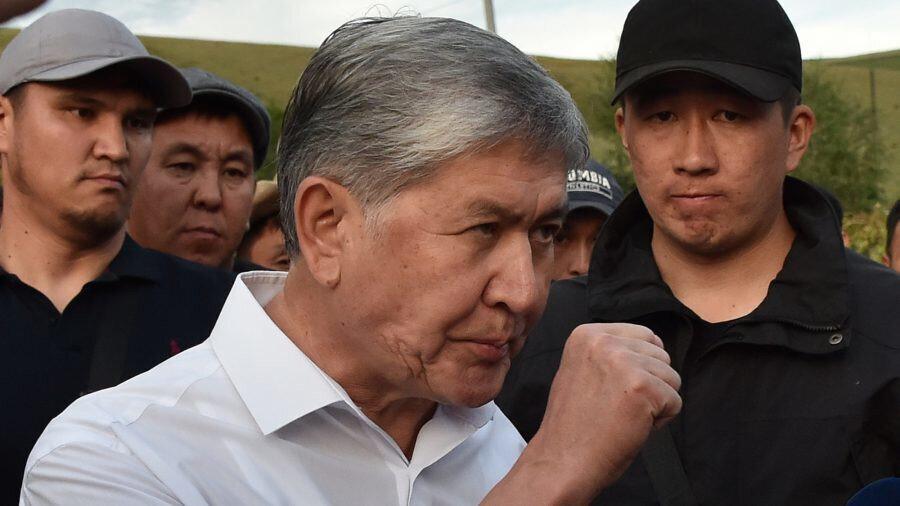 Eski Kırgızistan Cumhurbaşkanı Almazbek Atambayev.
