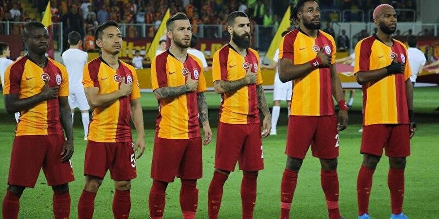 Galatasaray Futbol Kulübü oyuncuları