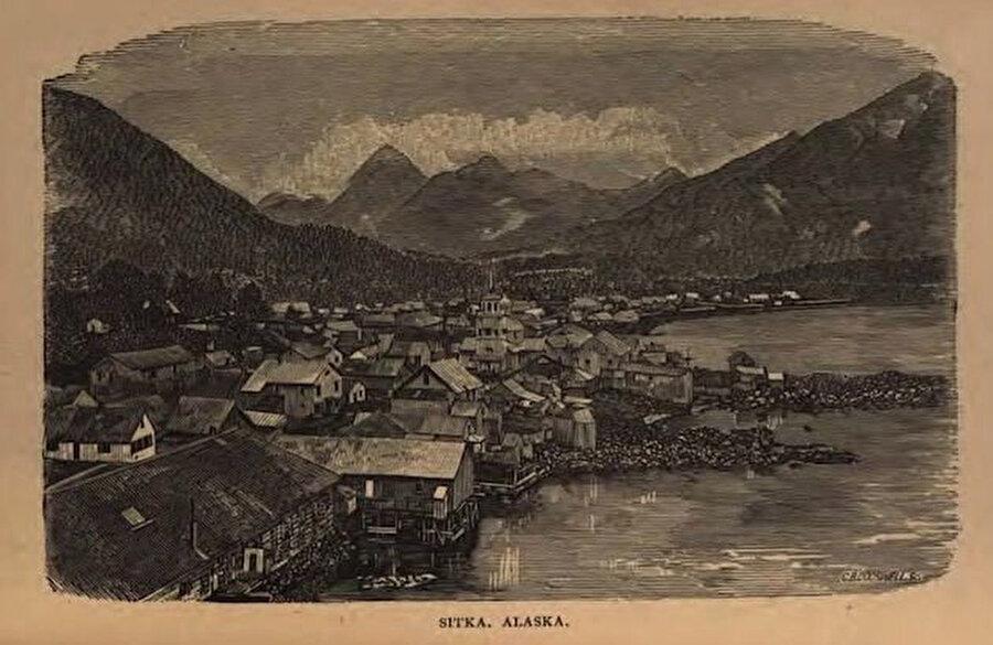 1800'lü yıllardaki bir kartpostal