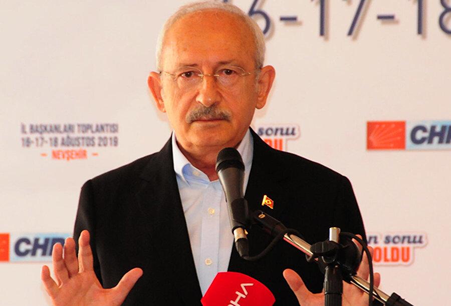 CHP Genel Başkanı Kemal Kılıçdaroğlu -DHA