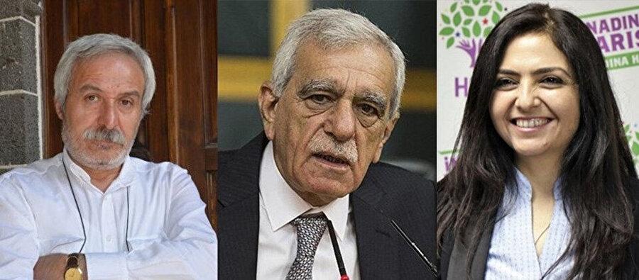 Selçuk Mızraklı, Ahmet Türk ve Bedia Özgökçe Ertan