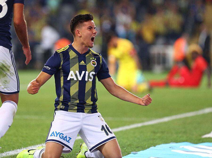 Ferdi Kadıoğlu'nun gol sevinci.