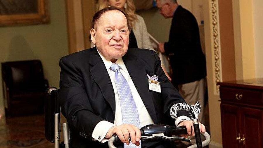 Yahudi milyarder işadamı Sheldon Adelson