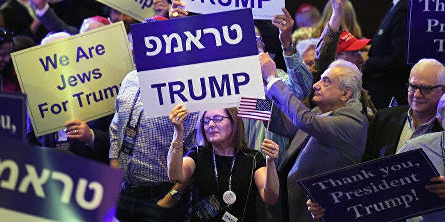 ABD'deki Trump destekçisi bazı Yahudiler