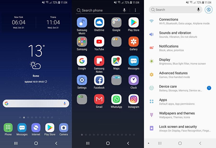 Android'de özelleştirme seçenekleriyle birlikte temalar da değişiyor. Yeni seçenekler ekleniyor.