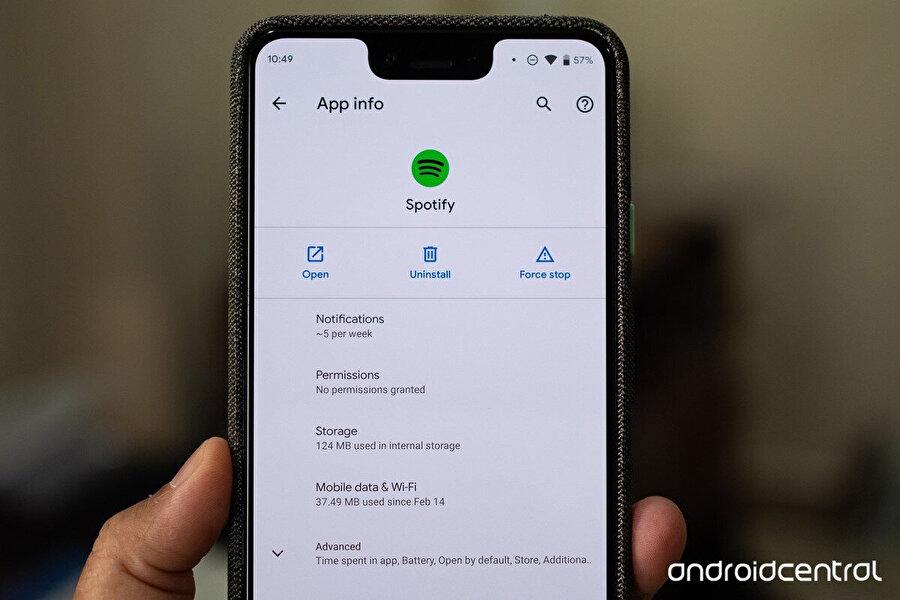 Kişisel verilerin büyük önem taşıdığı bugünlerde uygulama izinleri de Android 10 ile birlikte farklılık gösteriyor. Yani yeni seçenekler sunuluyor. Fotoğraf: AndroidCentral