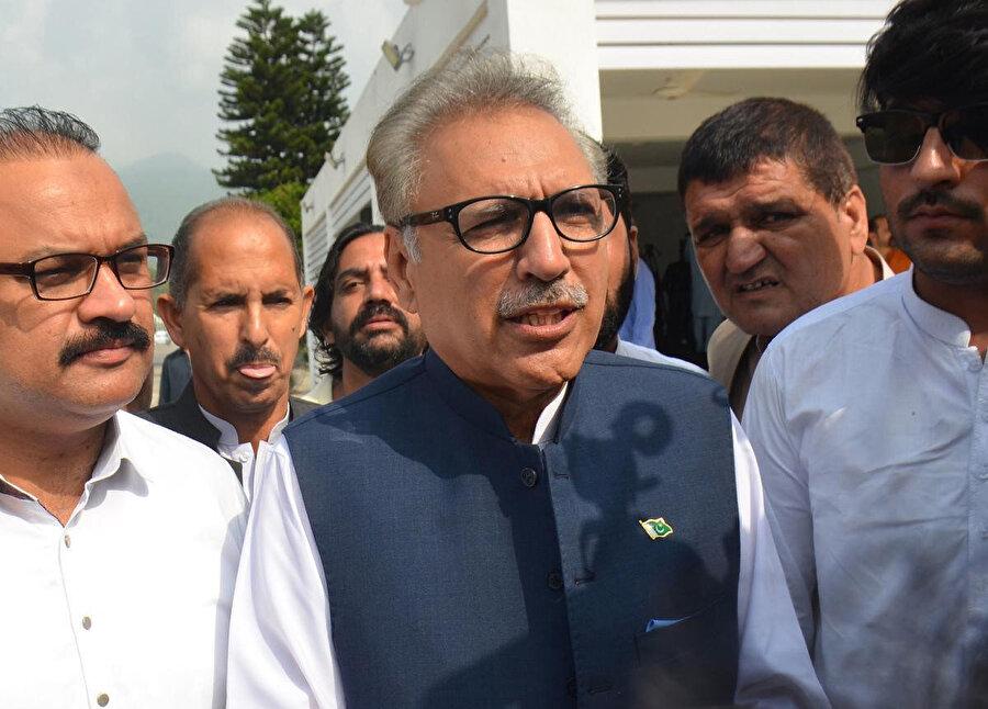 Pakistan Cumhurbaşkanı Arif Alvi.