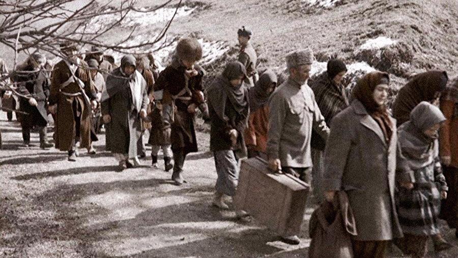 Çeçenler ve İnguşlar, 1944'de Stalin rejimi tarafından yurtlarından sürüldü.