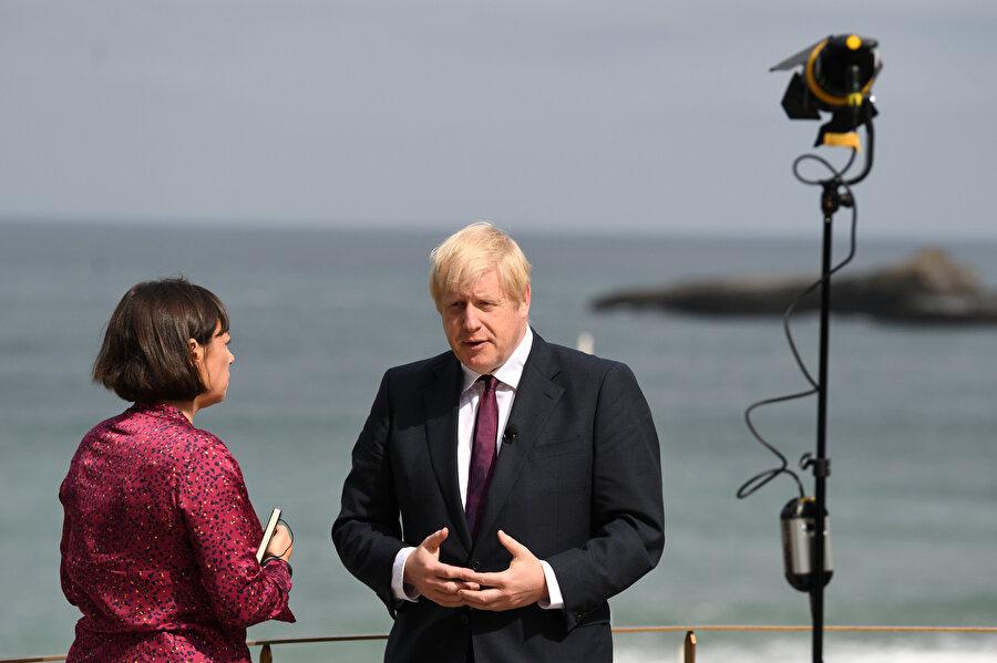 İngiltere Başbakanı Boris Johnson -REUTERS