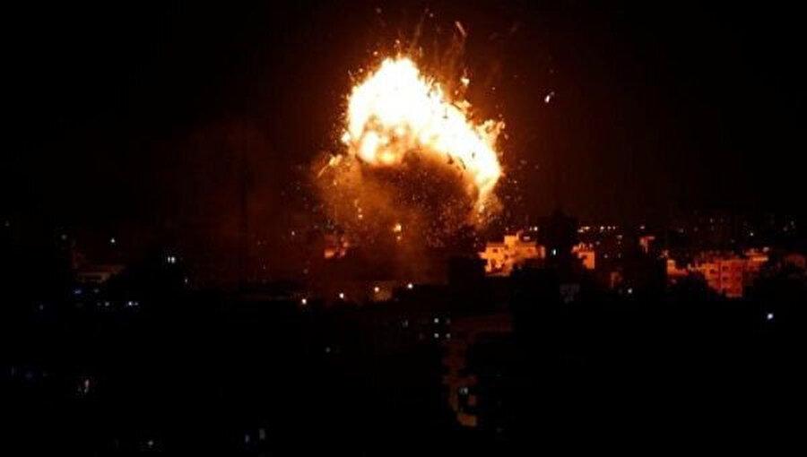 Filistin Halk Kurtuluş Cephesi-Genel Komutanlık'a (FHKC/GK) ait mevziler İsrail tarafından gece saatlerinde vuruldu.