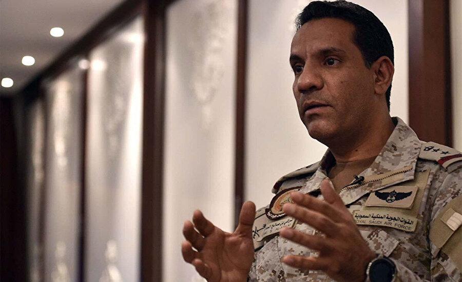 Arap Koalisyonu Sözcüsü Turki el-Maliki