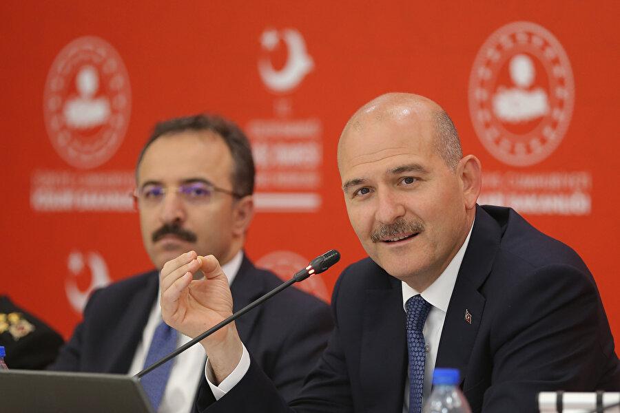 """İçişleri Bakanı Süleyman Soylu, """"İstanbul özelinde yaptığımız, kimseyi geldiği ülkeye göndermek değildir."""" açıklaması yapmıştı."""