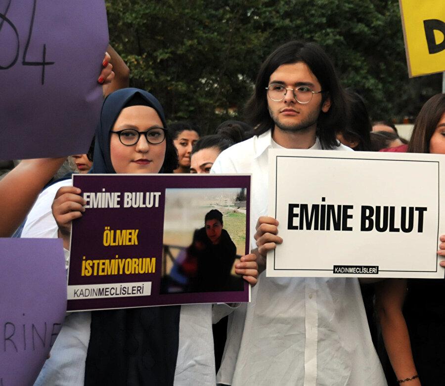 Bursa'da Emine Bulut cinayetine davullarla tepki gösterilmişti.