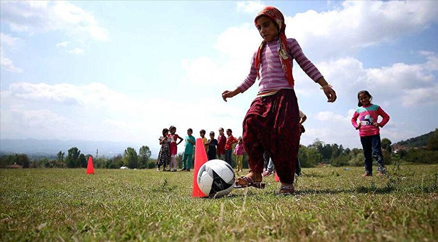 'Mevsimlik Fındık Tarımında Çocuk İşçiliğinin Sonlandırılması Projesi' ile çocuklar tarlada çalışmak yerine eğitim alıyor