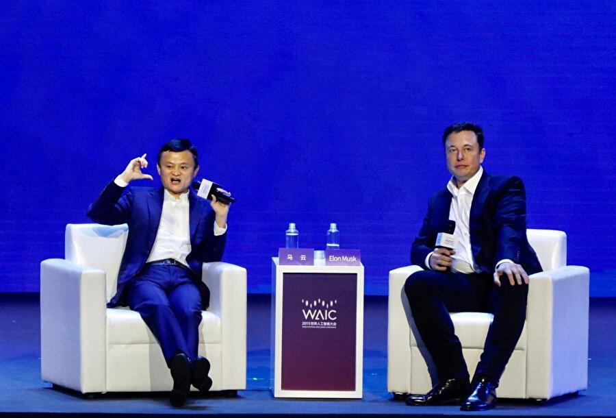 Elon Musk ve Jack Ma