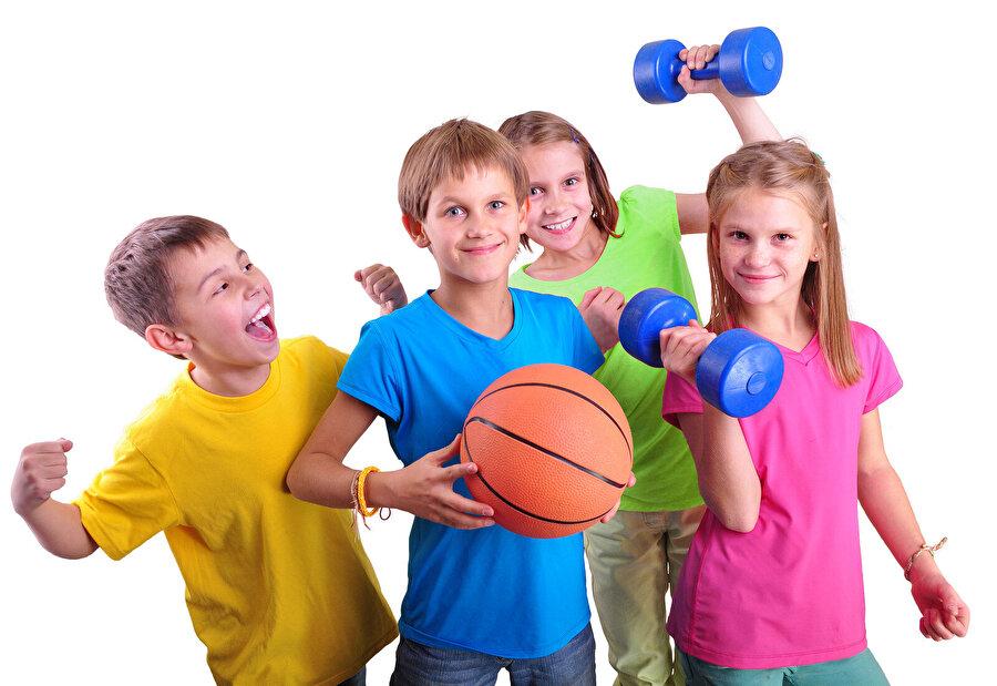 Çocukların spor yapması teşvik edilmeli