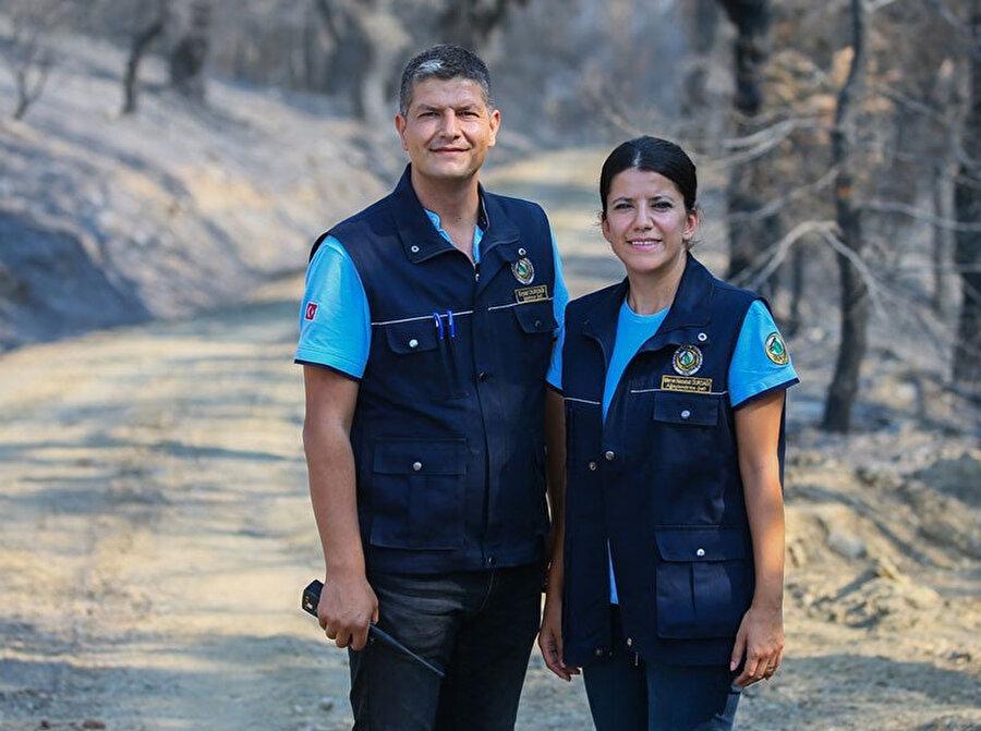 Genç mühendis çift, İzmir'i yeniden ağaçlandırmak için çalışıyor