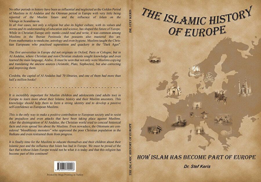 """Dr. Stefanos Kefokeris'in """"Avrupa'nın İslam Tarihi"""" başlıklı kitabı."""