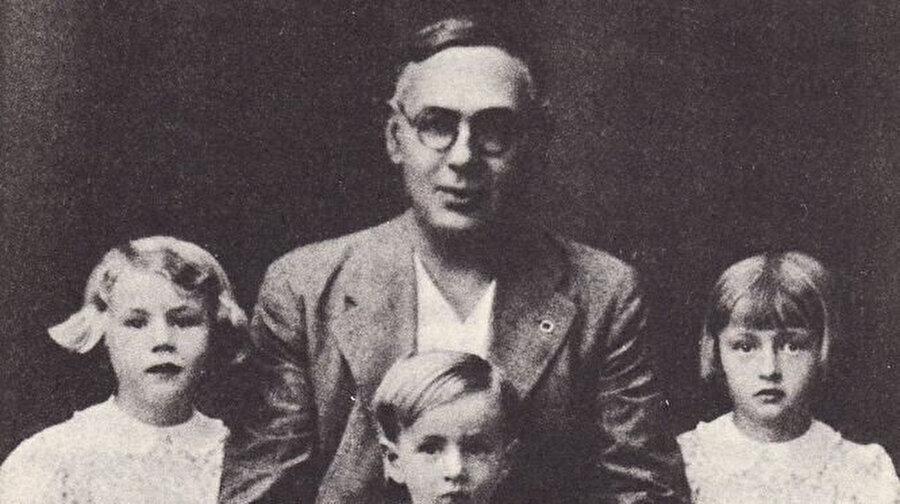 Blas Infante ve çocukları.